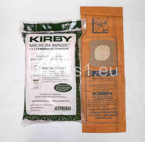 Kirby Staubsaugerbeutel Micron Magic- 9er Pack