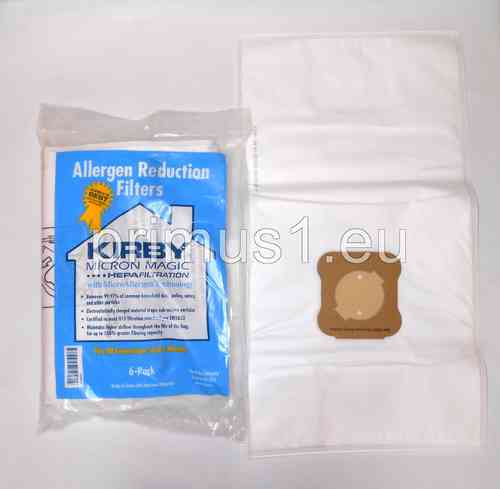 Kirby Staubsaugerbeutel Allergen Technology - 6er Pack